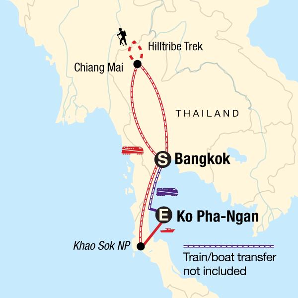 Thailand mit kleinem Budget – Full Moon Party in Thailand, Asien - G ...