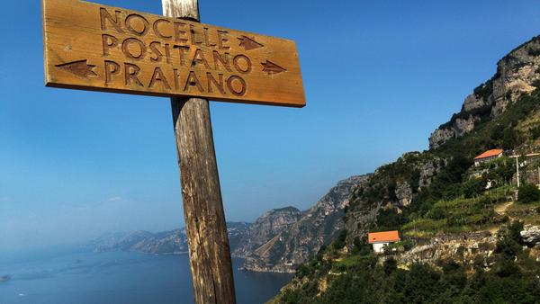 Pamela Roth shares how Amalfi's peaceful coastline charmed her with its laid back way of life.
