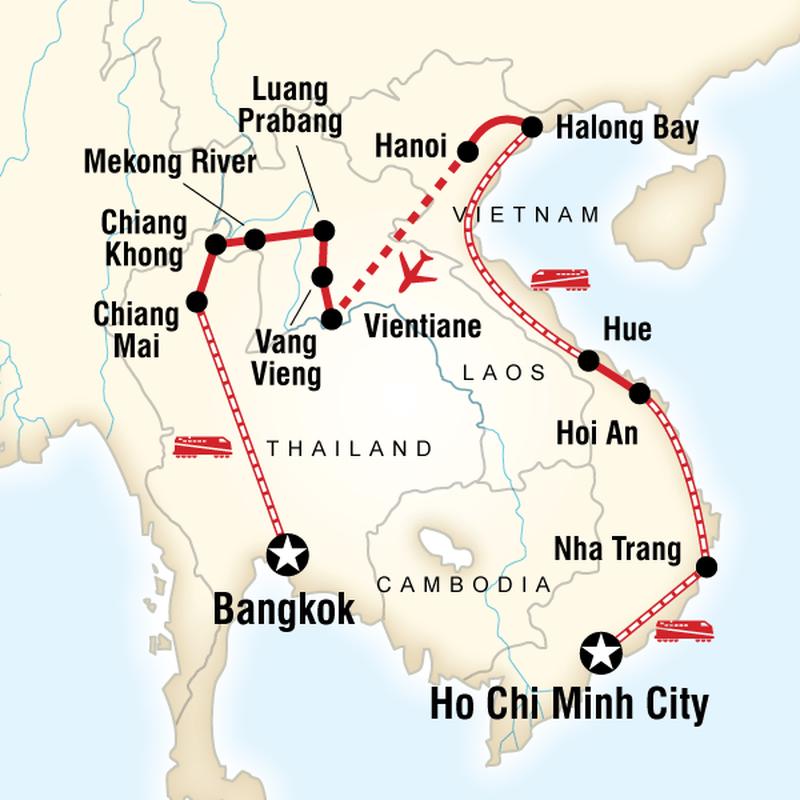 trips vietnam laos thailand shoestring avvl