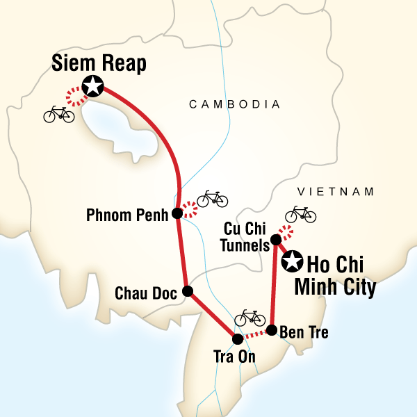Kamboçya Vietnam Bisiklet Turu