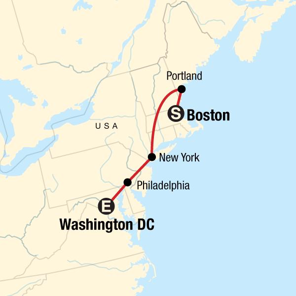 Entdecke Den Nordosten Von Boston Nach Washington Dc In