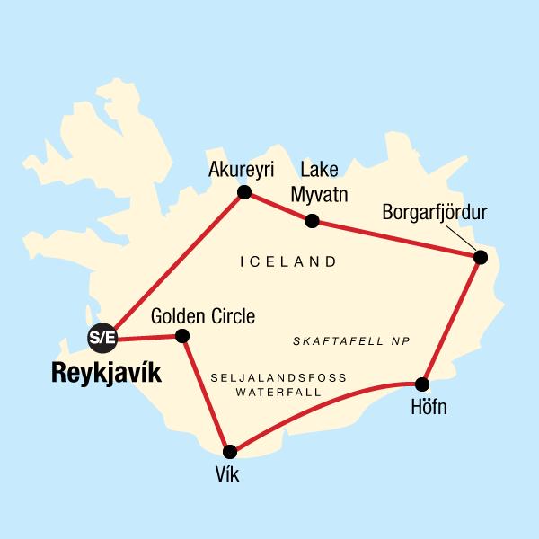 Das Beste von Island in Island, Europa - G Adventures