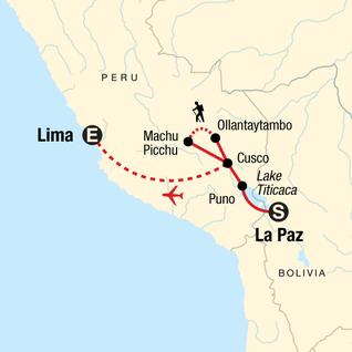 Map of Inca Empire