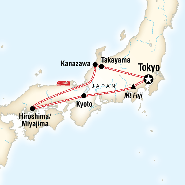 Discover Japan In Japan Asia G Adventures - Japan map fuji