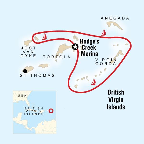 Sailing the British Virgin Islands – Tortola to Tortola in British ...