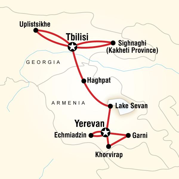 Ermenistan Gürcistan Turu