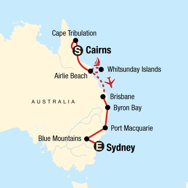 Australia Map Byron Bay.Best Of Australia In Australia Australia Pacific G Adventures
