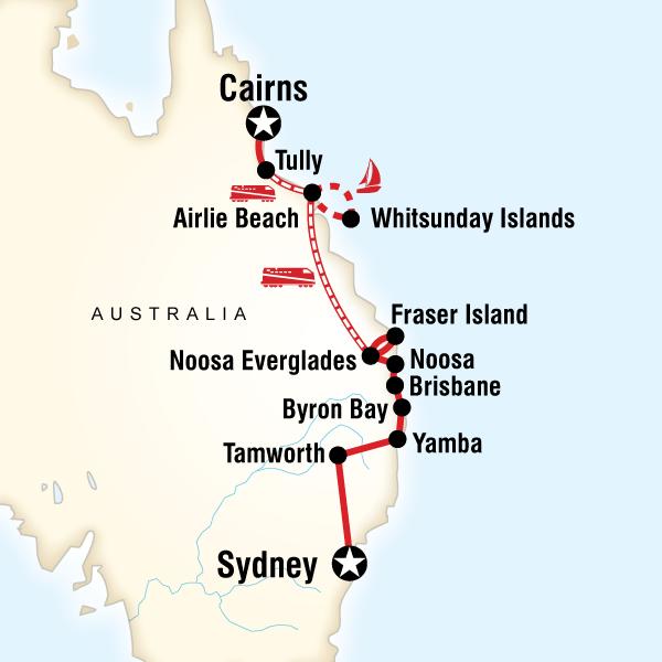 Doğu Avustralya Turu