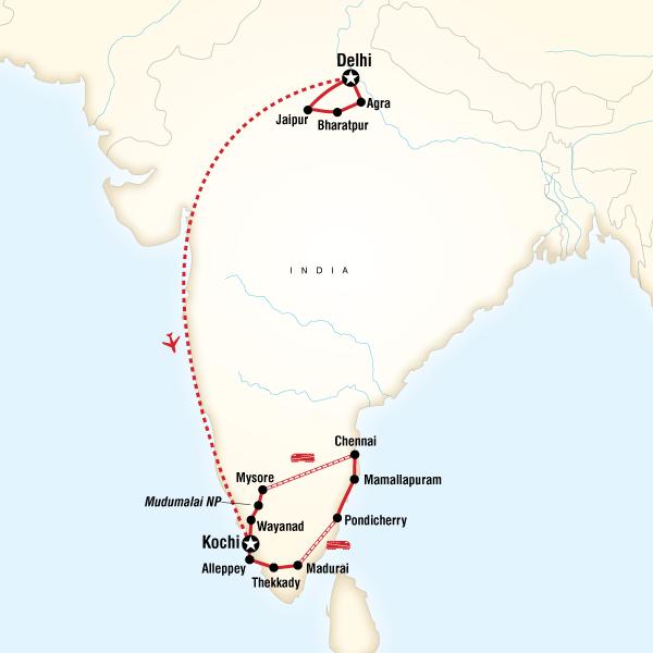Incredible India in Indien, Asien - G Adventures