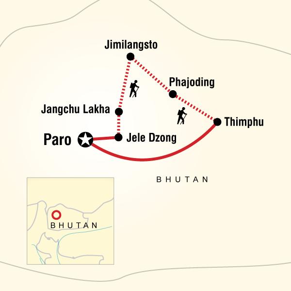 Druk Path Trek In Bhutan In Bhutan Asien G Adventures