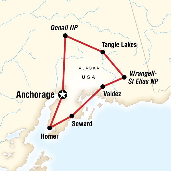 Alaska Amerika Turu