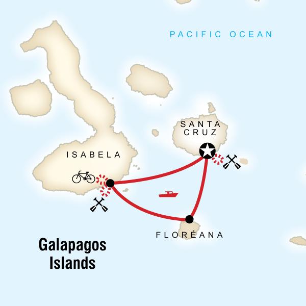 Galpagos Multisport in Galapagos South America  G Adventures