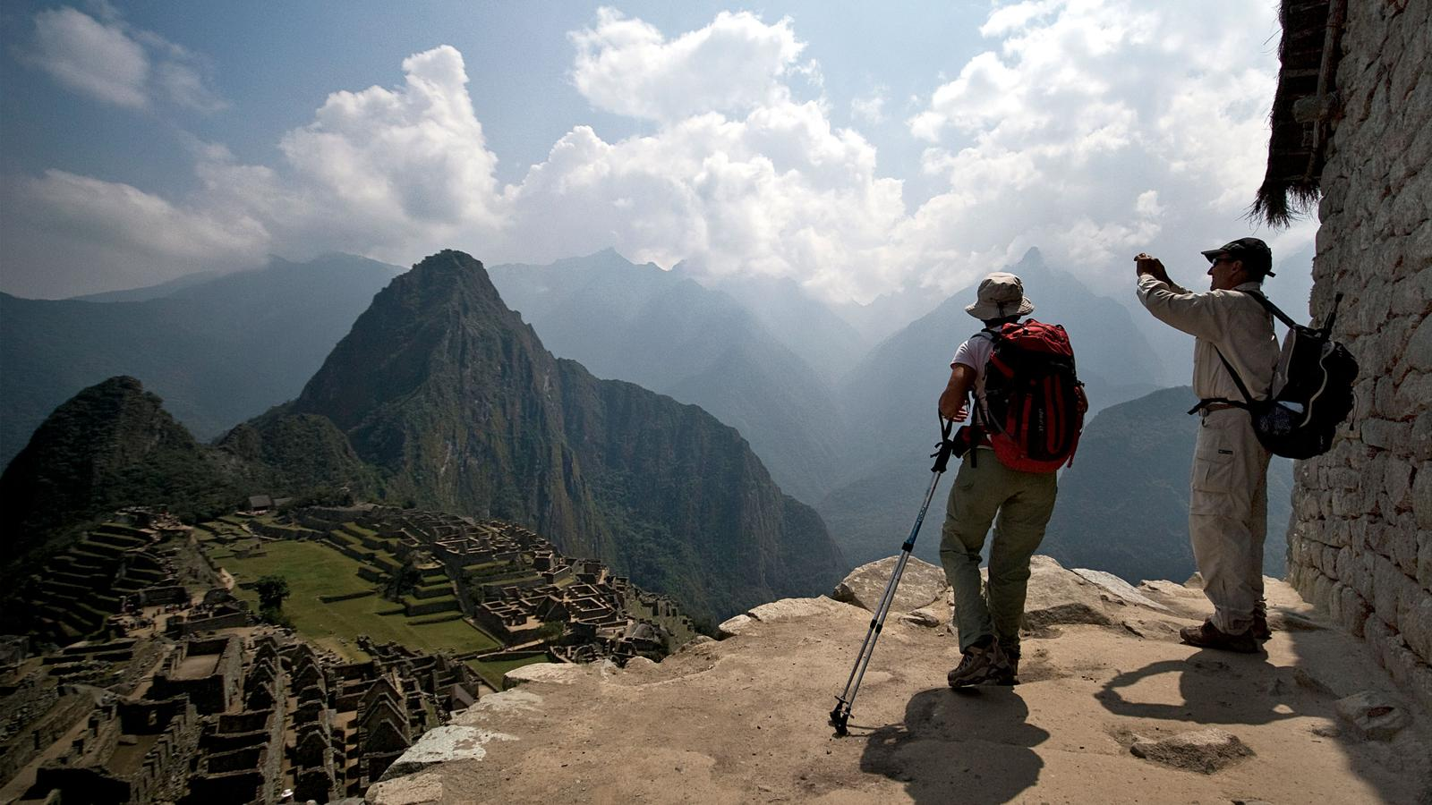Machu Picchu And The Amazon In Peru  South America