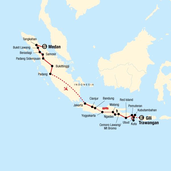Indonesia Adventure Sumatra Java Bali In Indonesia Asia