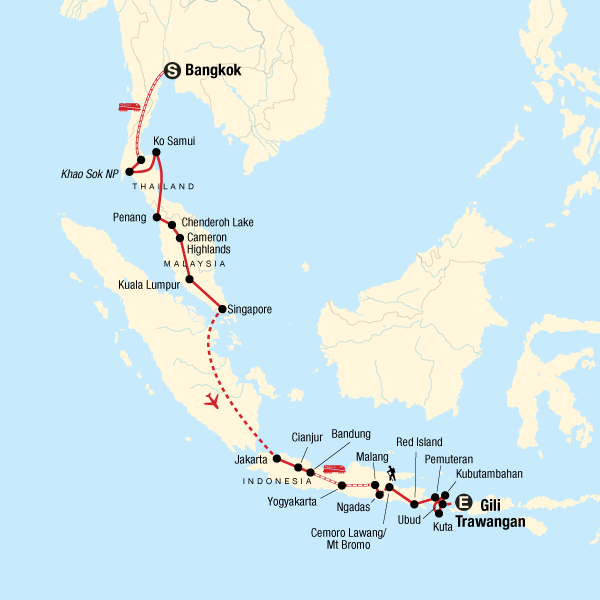 Bangkok to Bali Adventure in Indonesia, Asia - G Adventures