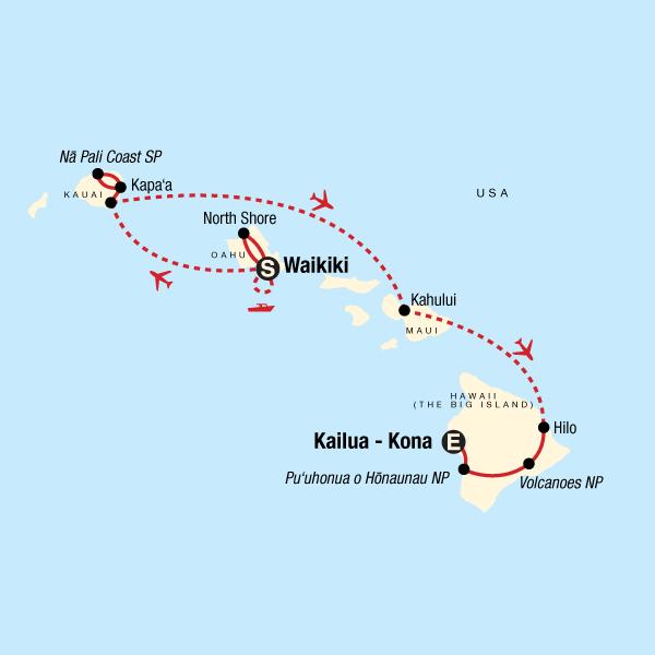 Hawaii Multi Island Adventure