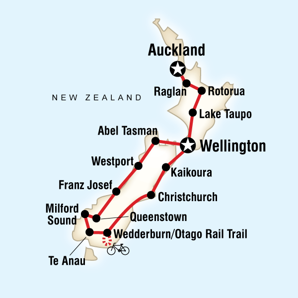 Best of New Zealand in New Zealand, Australia / Pacific - G Adventures