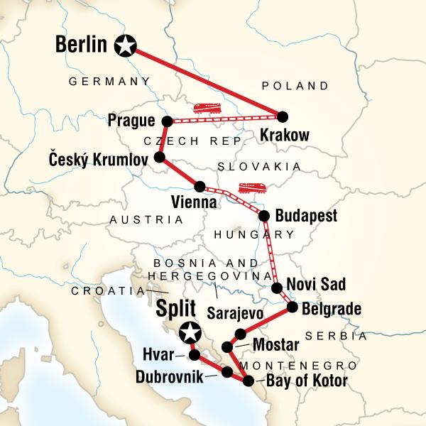 Best Places To Travel Europe April: Eastern Europe, Croatia & The Balkans In Croatia, Europe