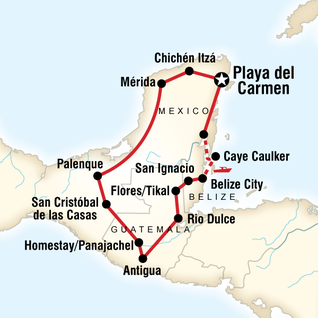 Mayan Trail in Mexico Central America G Adventures