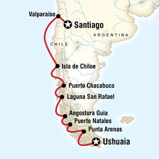trips south america santiago carena xvscsx