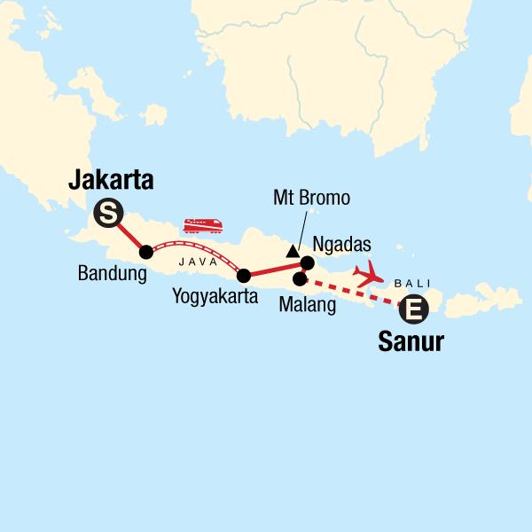 Das Beste von Java in Indonesien, Asien - G Adventures