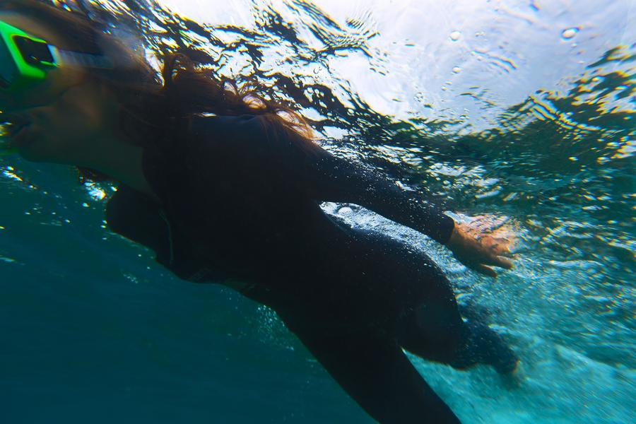 Getting the perfect shot is that much harder when you're below the surface
