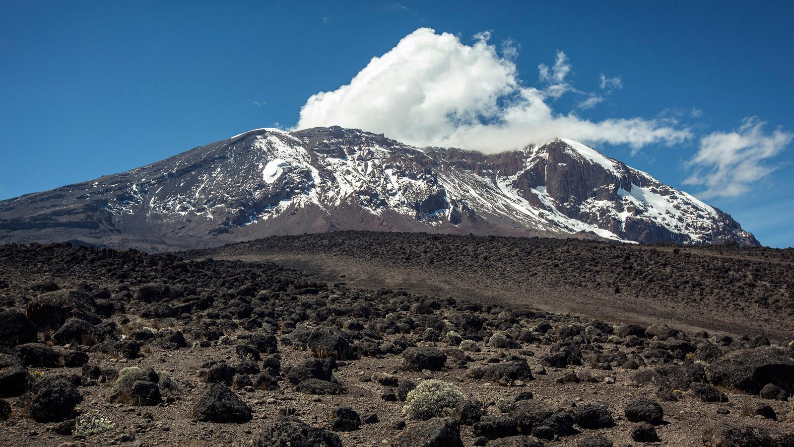 Where Is Mount Kilimanjaro On A Map Of Africa.Mt Kilimanjaro Trek Machame Route 9 Days In Tanzania Africa G