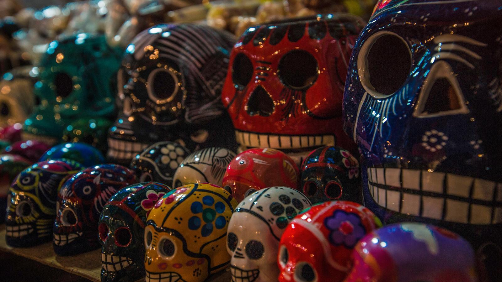 oaxaca day of the dead puerto escondido in mexico central america