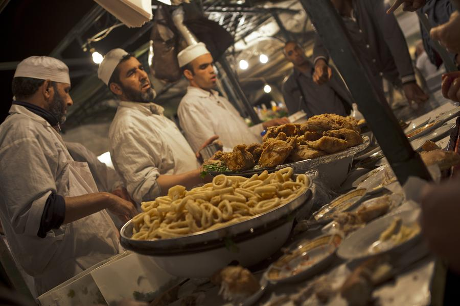The street food of this bustling Moroccan city reflects its history and diversity
