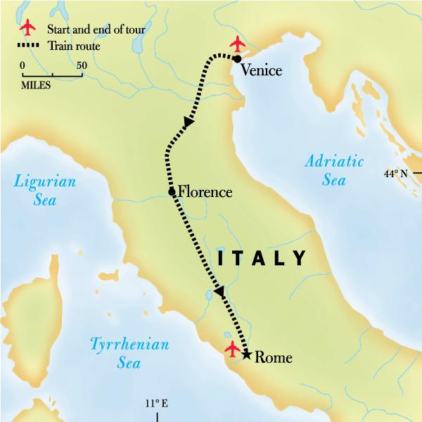 Venedig Karte.Italien Family Journey Von Venedig Nach Rom In Italien