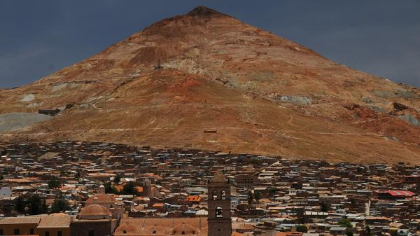 The miners of Potosi, Bolivia tell their tales to Wanderers-in-Residence Dan and Audrey.