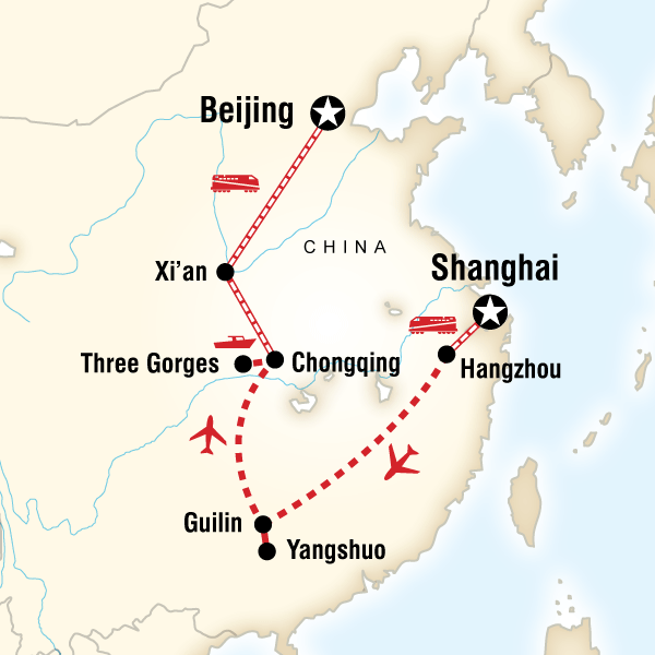 Highlights of China in China Asia G Adventures