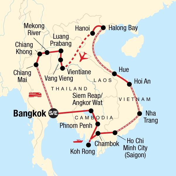 Entdecke Indochina In Thailand Asien G Adventures
