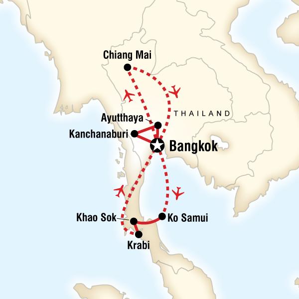 Iconic Thailand In Thailand Asia G Adventures