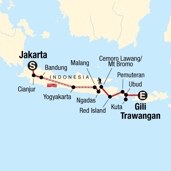 Indonesia Adventure Java Bali
