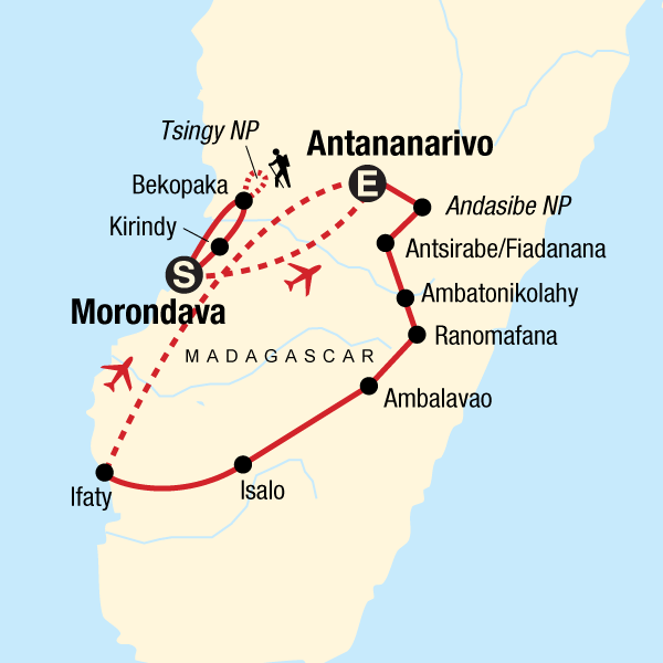 Madagaskar Karte Nationalparks.Madagaskar Die Ultimative Reise In Madagaskar Afrika G Adventures
