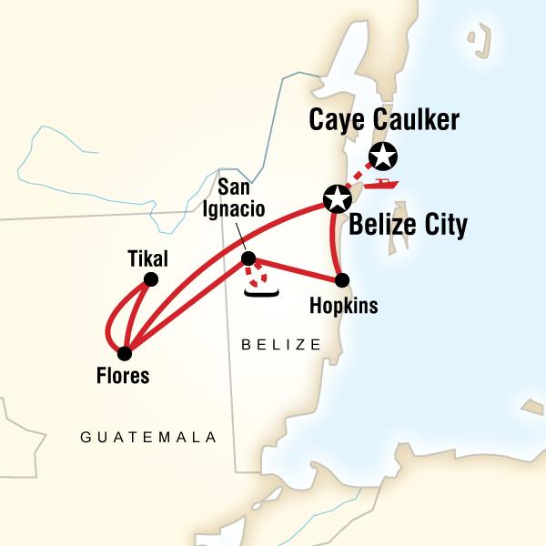 Belize ve Guatemala Turu