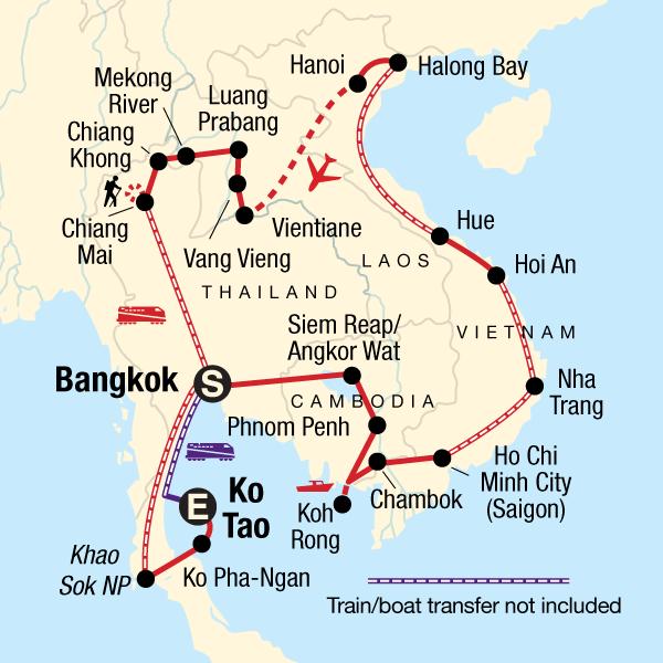 Südostasien Total In Thailand Asien G Adventures