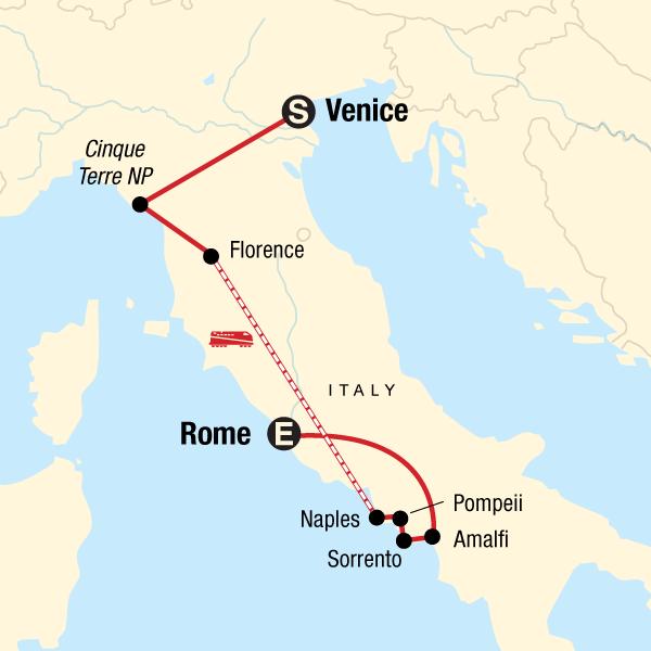 Die Highlights von Italien in Italien, Europa G Adventures
