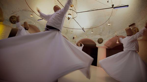 Take a look at the history behind the Whirling Dervishes in Turkey.