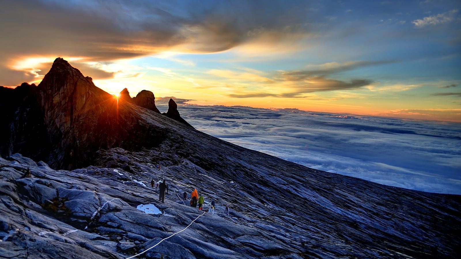 Mount Kinabalu, Malaysia. Image: Gadventures