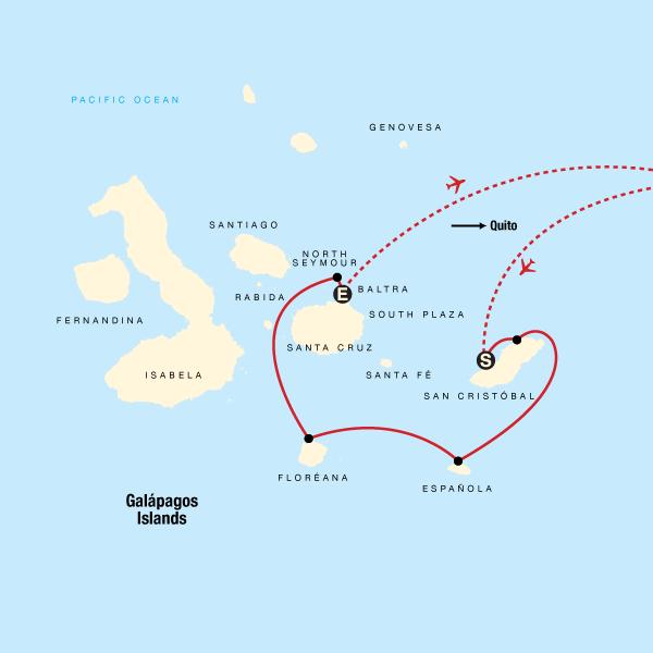 Galapagos South Central Islands Aboard The Estrella Del Mar