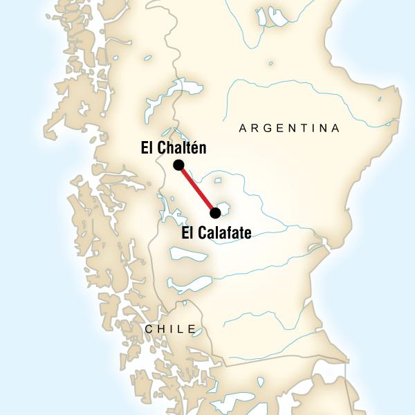 Glacier National Park—El Chaltén Independent Adventure in Argentina ...