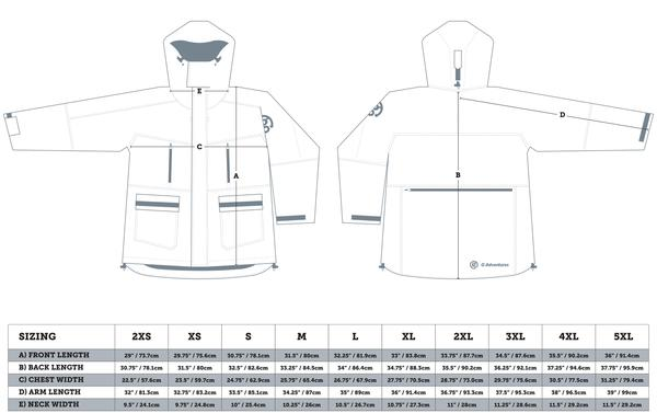 mens canada goose jacket size chart