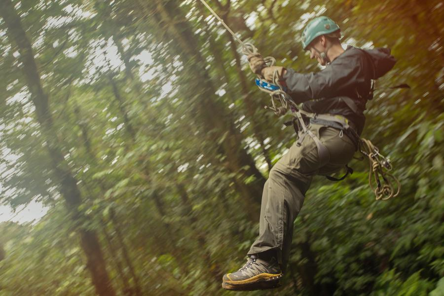 Follow us along to Costa Rica this week as we take a seven second zip-line through the rainforest