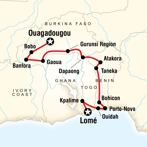 The Voodoo Trail In Togo Africa G Adventures
