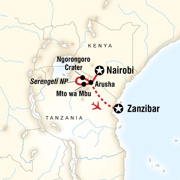Kenya Tanzanya Zanzibar Turu