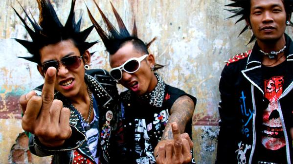 """Yangon calling! In Burma, the punk scene isn't just an affectation for disaffected youth, it's a rallying cry that has helped to provoke sweeping reforms that are changing the political landscape. Today on the Looptail — check out """"Punks on Hope"""", an introduction to Burma's underground music scene. Hey, ho. Let's go"""