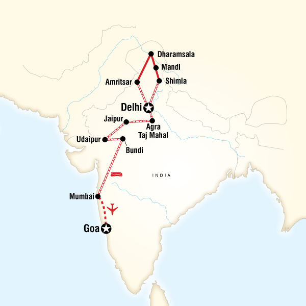 Northern India Rajasthan To Goa By Rail In India Asia G Adventures