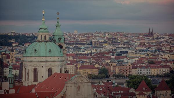 Prague stands out as one of the few cities in Europe that emerged from WWII with its medieval old town almost entirely intact.